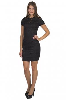 Черное короткое платье Bast
